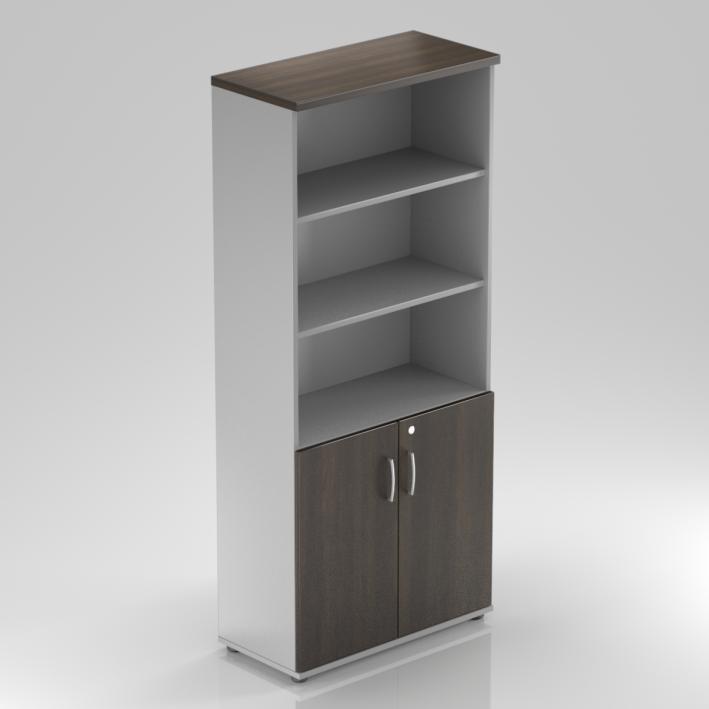 Rauman Kancelárska skriňa Visio, 80x38,5x183,5 cm, dvere 2/5 S582 07