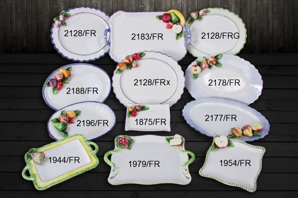 Set 3D Ovocie, Set Ovocie 3D Tanier 2128/FR