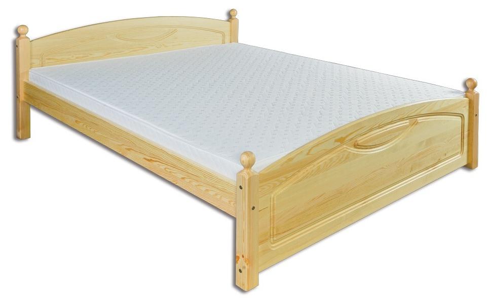 Manželská posteľ 140 cm LK 103 (masív)