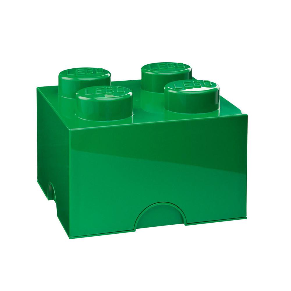Zelená úložná kocka LEGO®