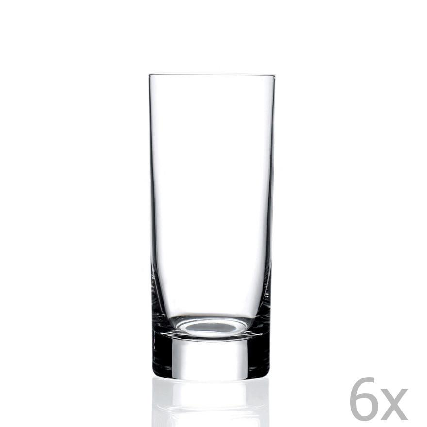 Sada 6 pohárov RCR Cristalleria Italiana Zeta