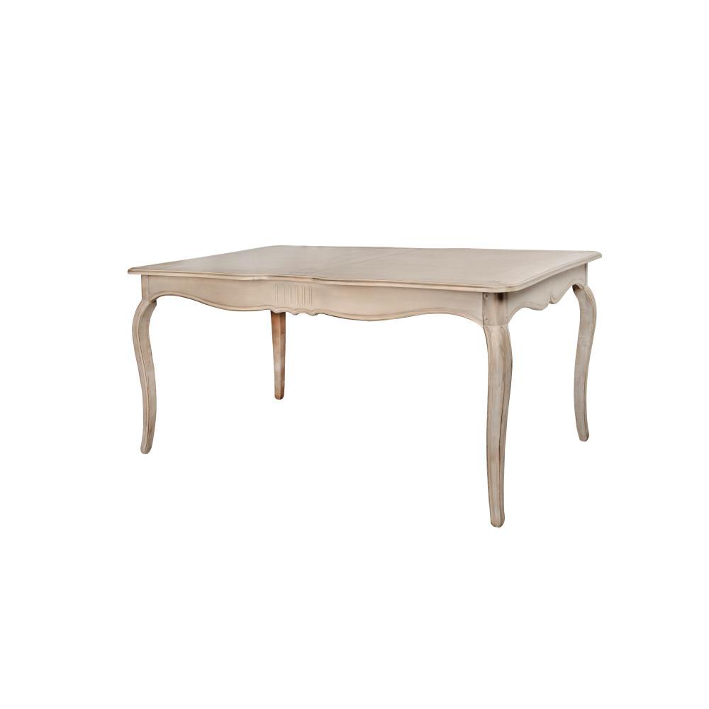 Béžový jedálenský stôl z brezového dreva Livin Hill Venezia