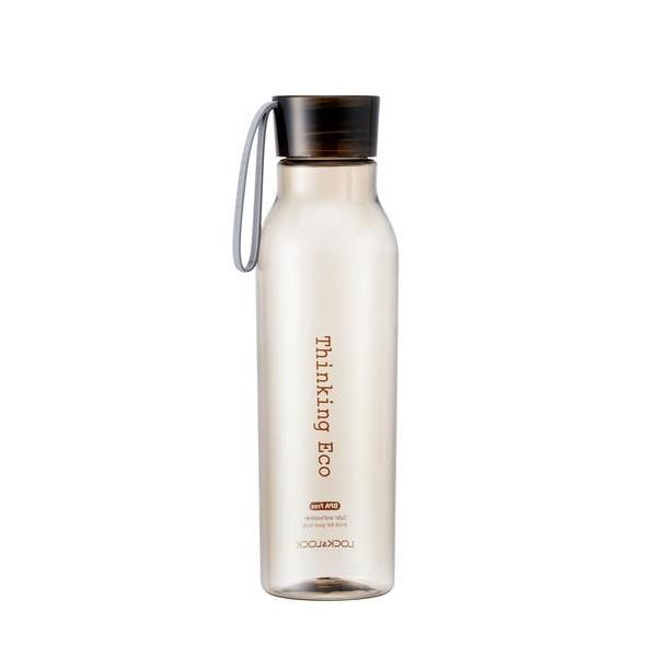 LOCK&LOCK Fľaša na vodu Bisfree Eco 550 ml, hnedá
