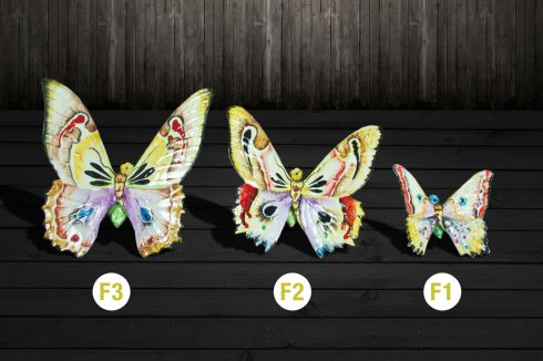 Motýľ na stenu, Veľkosť Veľká