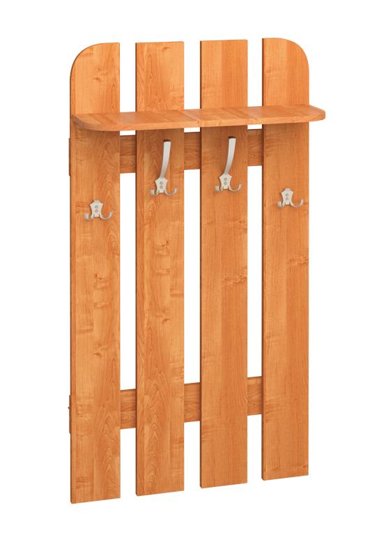 Vešiakový panel W 70-01   Farba: Jelša