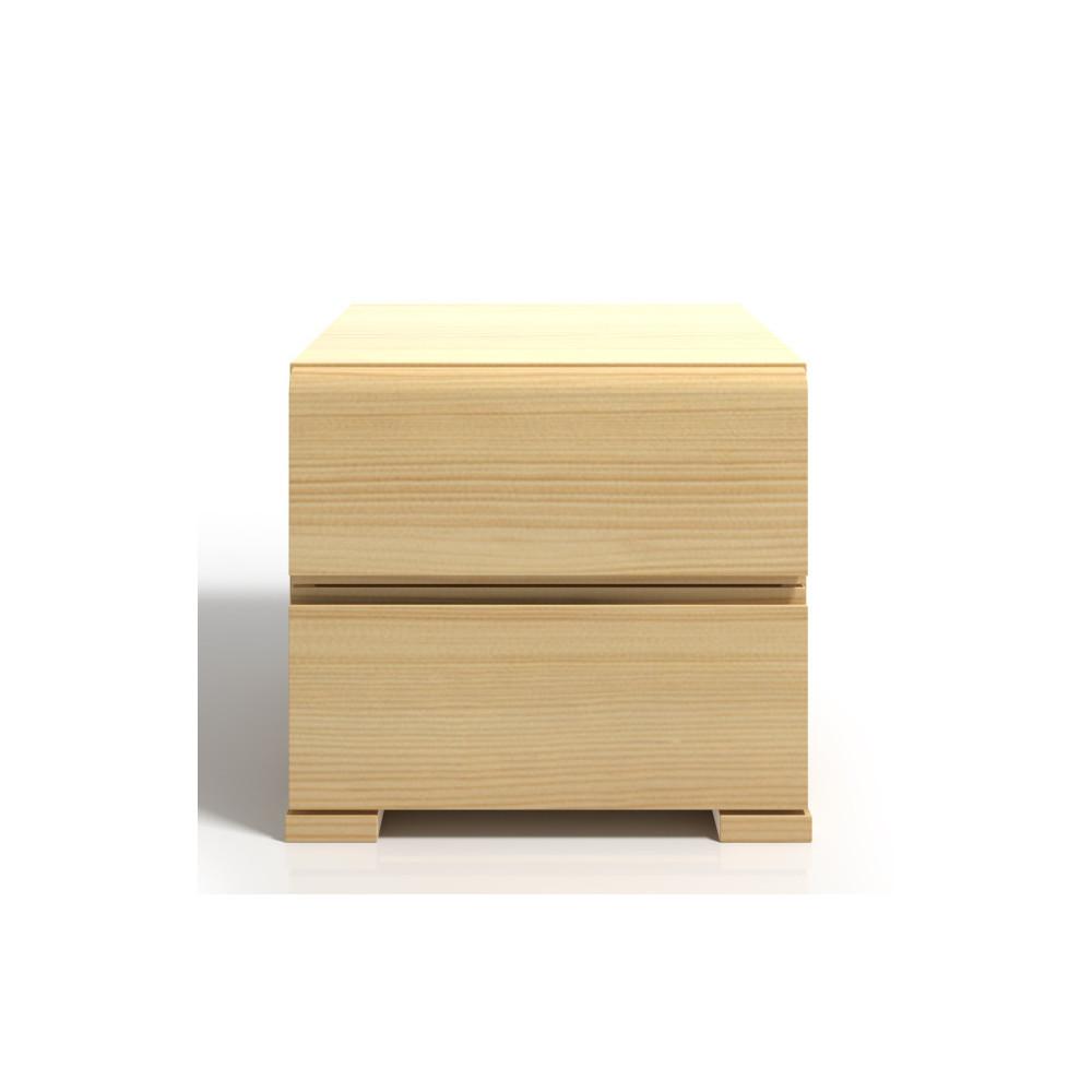 Nočný stolík z borovicového dreva s 2 zásuvkami SKANDICA Vestre