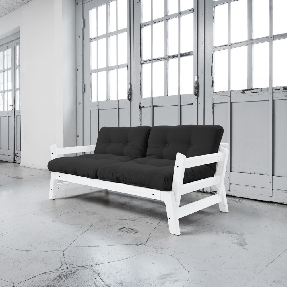 Rozkladacia pohovka Karup Step White/Grey