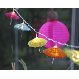 Svetelná dekoratívna reťaz Best Season Umbrella