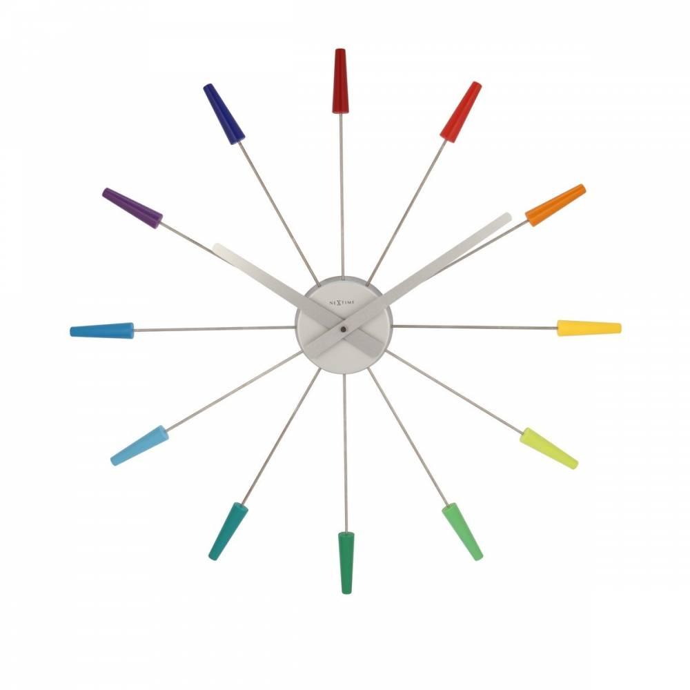 Nextime Plug Inn Color 2610di nástenné hodiny