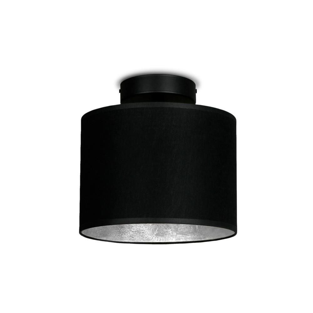 Čierno-strieborné stropné svietidlo Sotto Luce MIKA Elementar XS CP