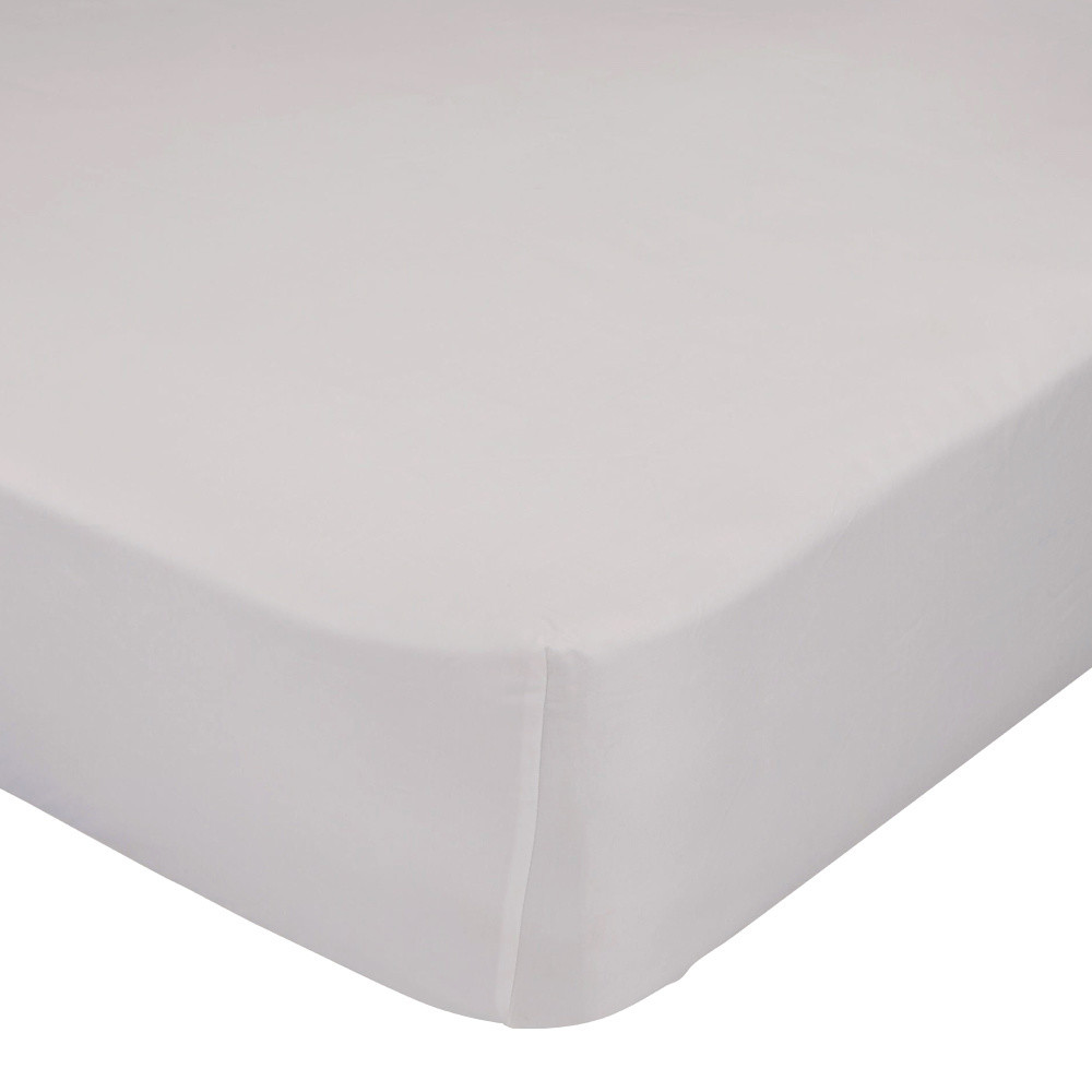 Béžová elastická plachta HF Living Basic, 90x200cm