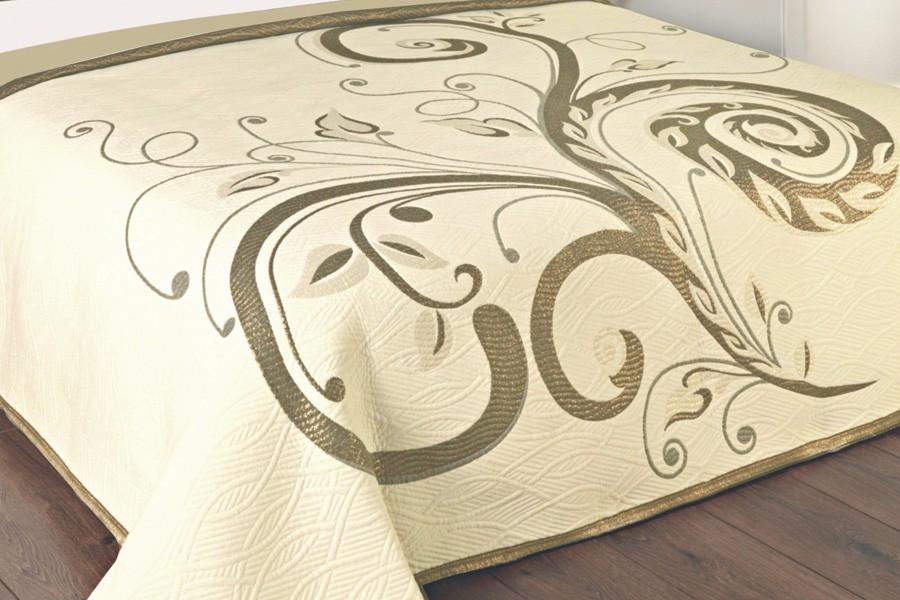 Bradop Prikrývka 240 x 260, DOMINIC béžový F02