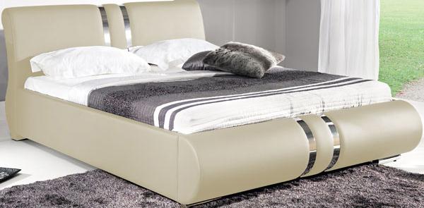 BOG-FRAN COMBI 160 posteľ s roštom - krémova