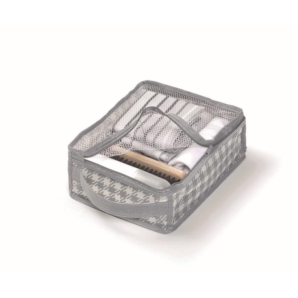 Sivý úložný box Cosatto De Poule,20x26cm