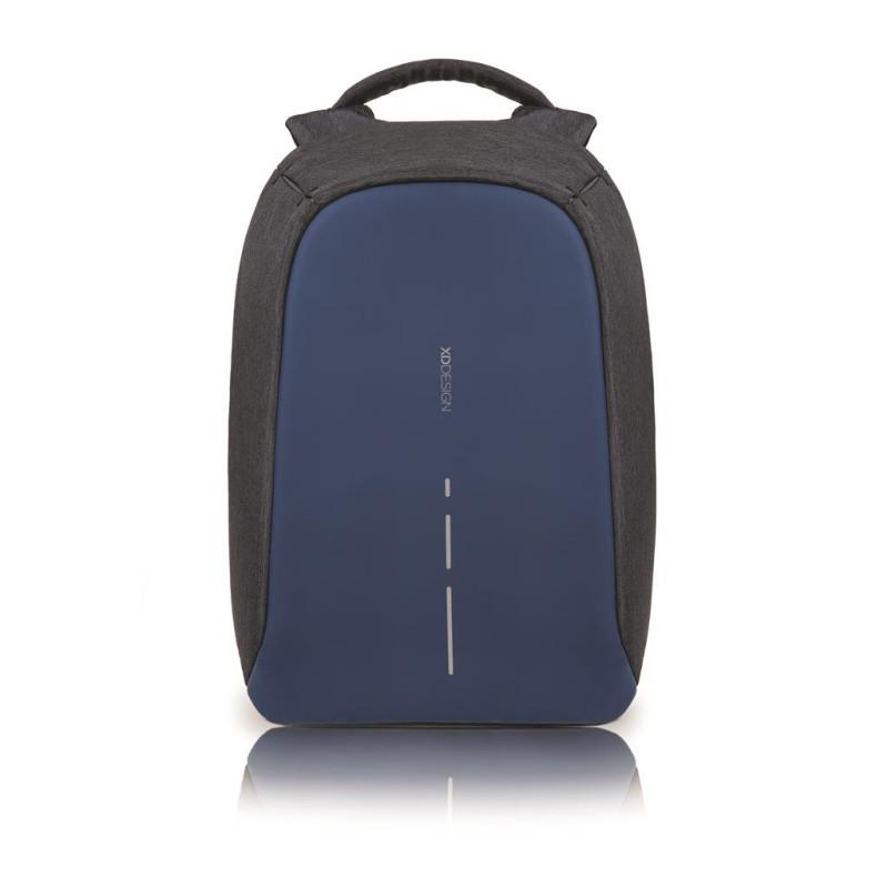 Tmavomodrý bezpečnostný batoh XDDesign Bobby Compact