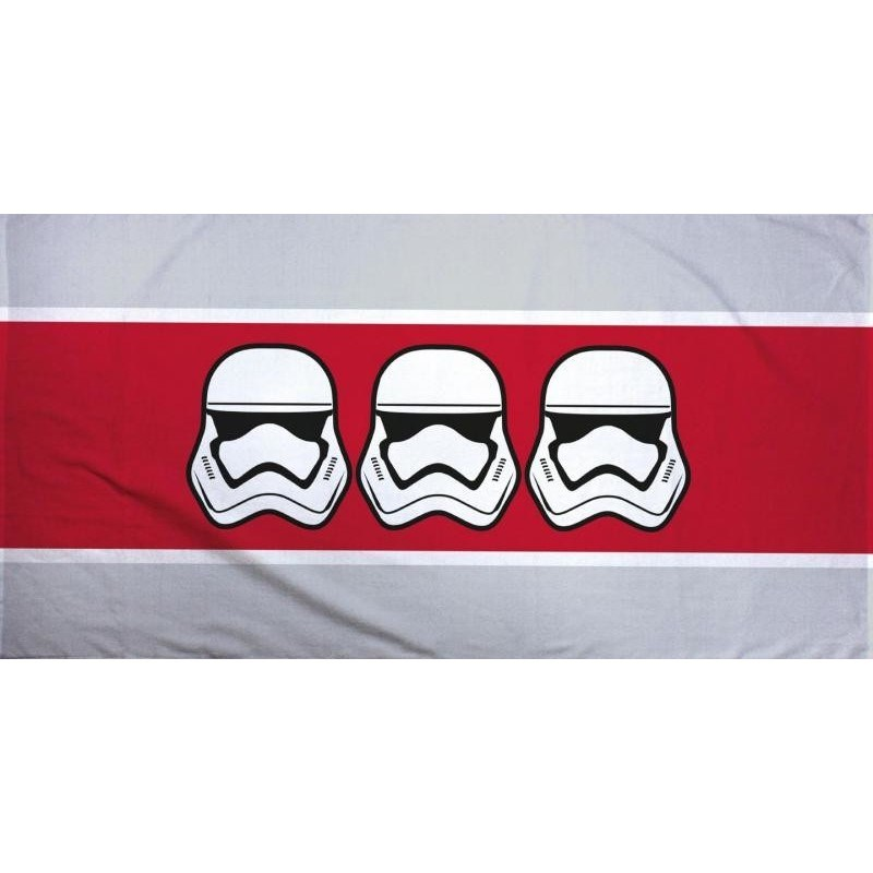 Halantex Osuška Star Wars Stormtroopers stripe, 70 x 140 cm