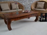 Furniture nábytok  Masívny konferenčný stolík z Palisanderu  Prém  110x60x40 cm