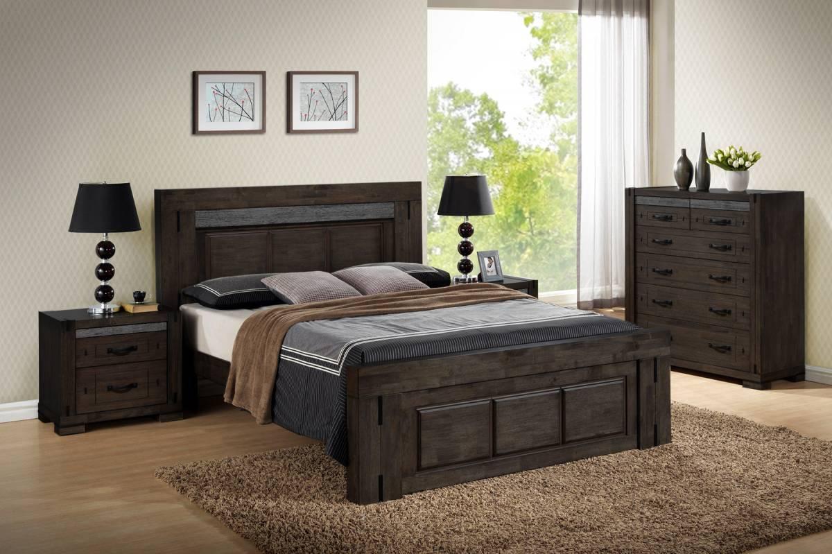 Drevená posteľ TYROL 180