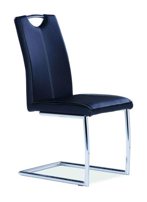 Jedálenská stolička HK-414, čierna