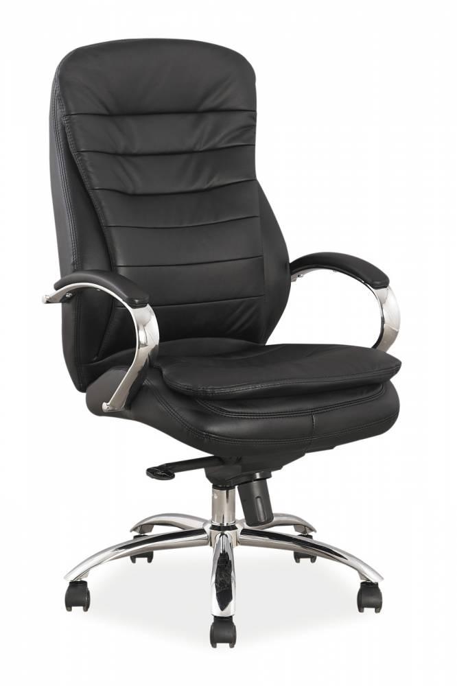 Kancelárske kreslo Q-154 / ekokoža   Farba: Čierna