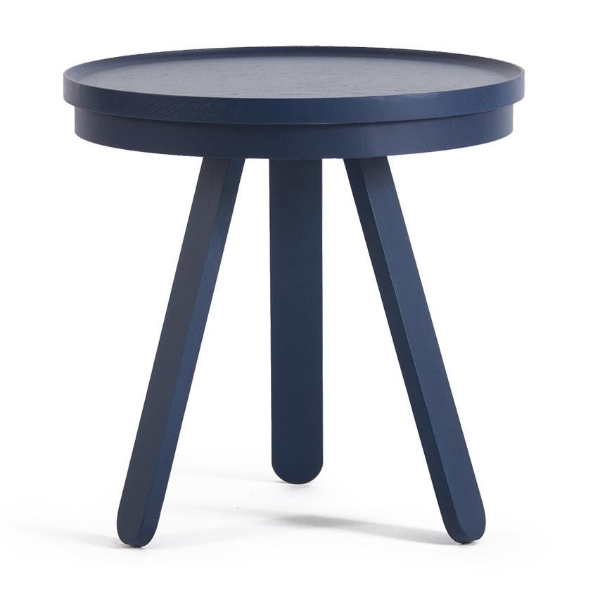 Modrý odkladací stolík Woodendot Batea Small