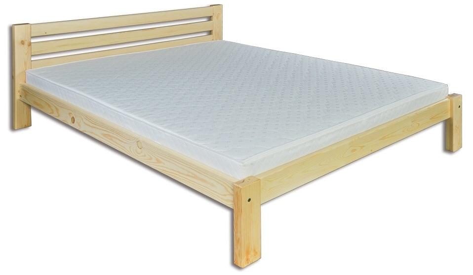Manželská posteľ 140 cm LK 105 (masív)