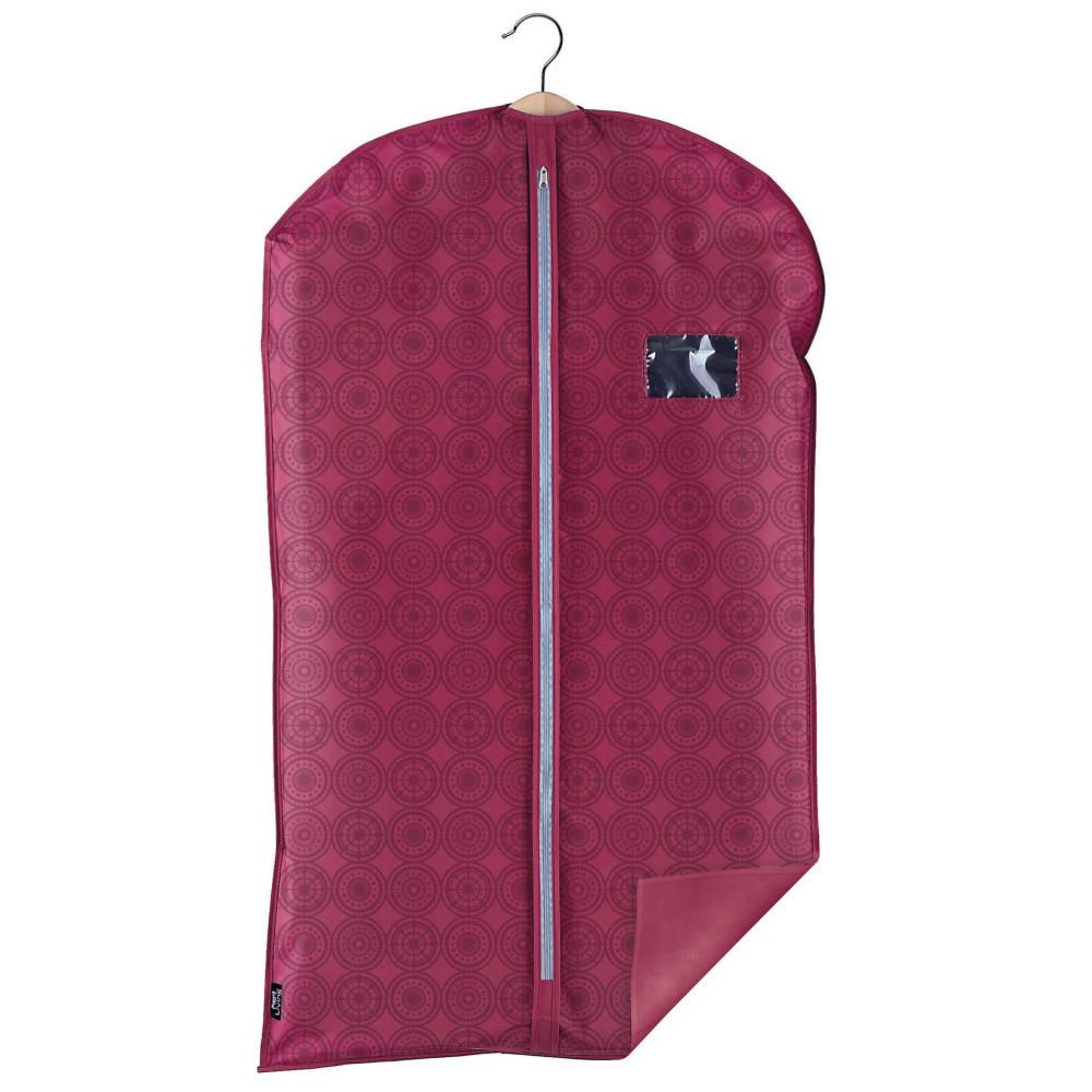 Fialový obal na oblek Domopak Ella