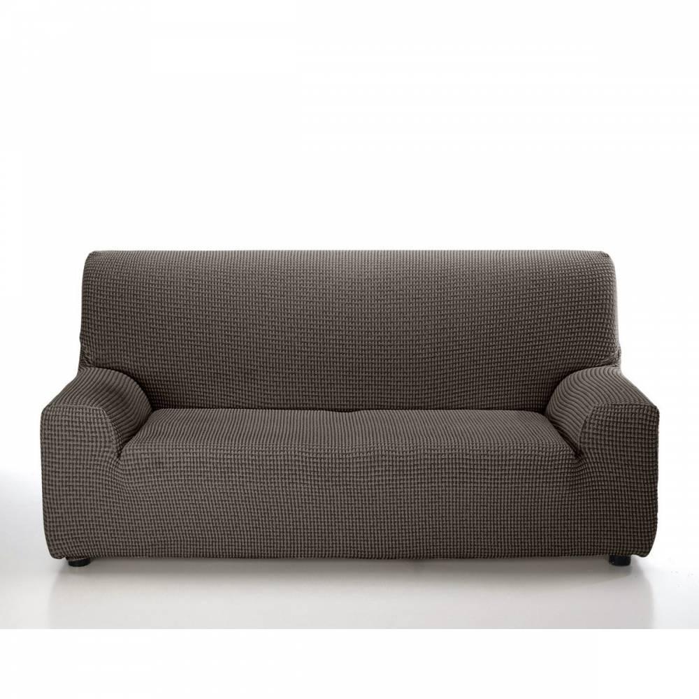 Forbyt Multielastický poťah na sedaciu súpravu Sada hnedá, 180 - 240 cm
