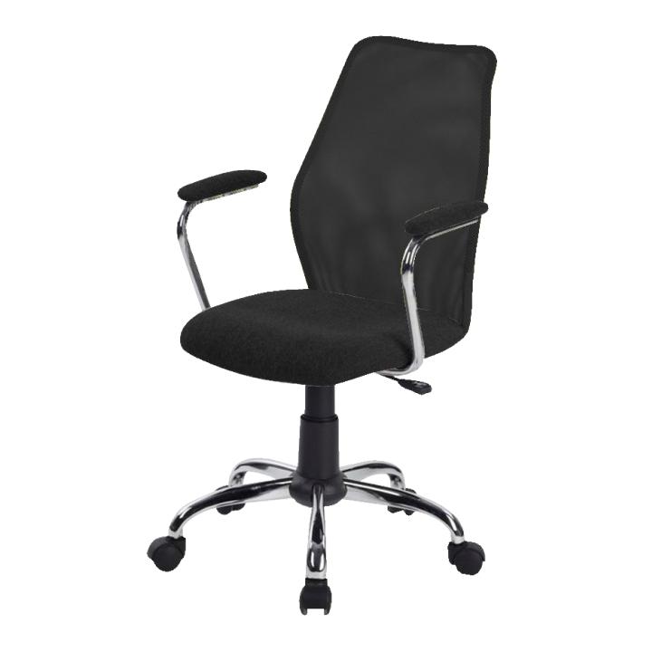 Kancelárska stolička BST 2003  TW 170 CIERNA/TW170 CIERNA