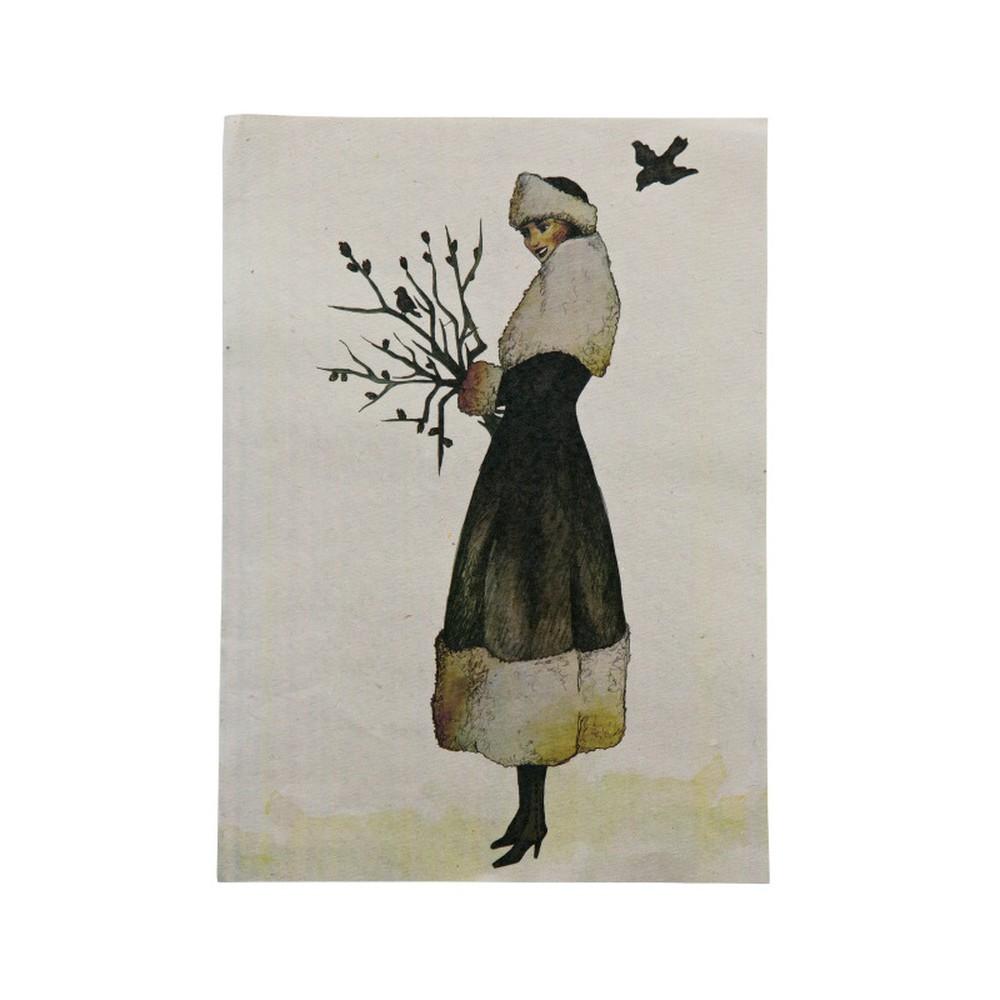 Plagát De Eekhoorn Wintertime, 47×32cm