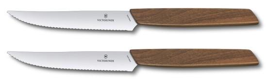 Sada steakových nožov Victorinox Swiss Modern 2 ks