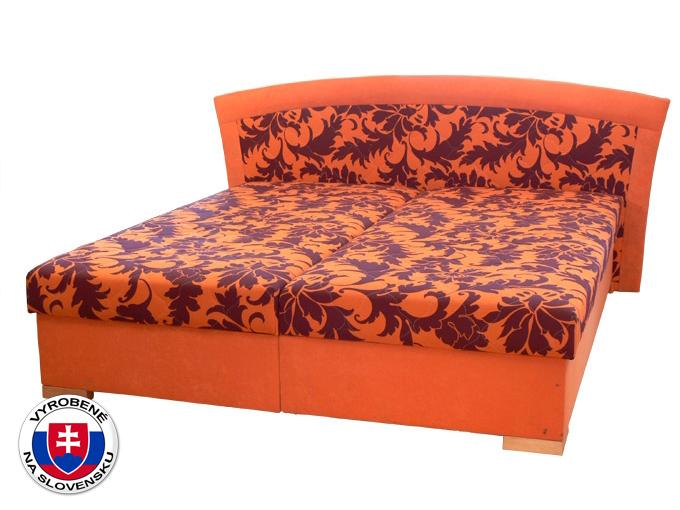 Manželská posteľ 160 cm Pescara (s pružinovým matracom)