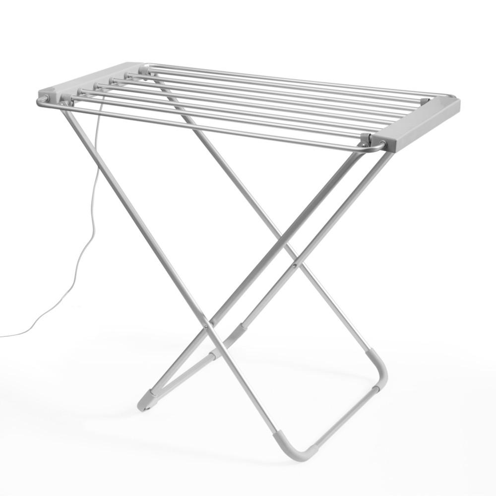 Biely skladací elektrický sušiak na prádlo InnovaGoods Clotheshorse