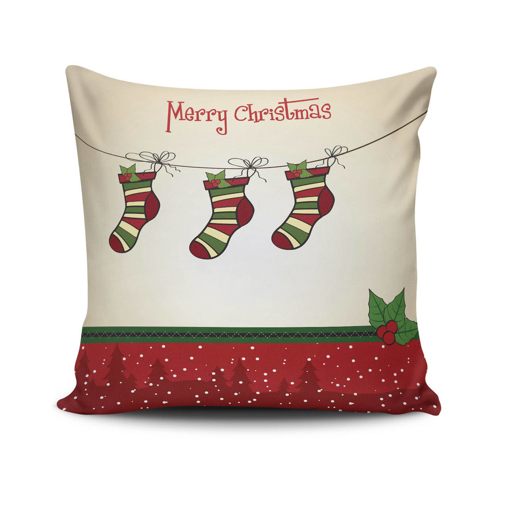 Vankúš Christmas Pillow no. 27, 45x45cm