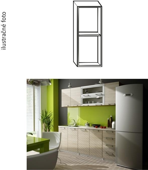 Kuchynská skrinka, biela, IRYS G1P-20