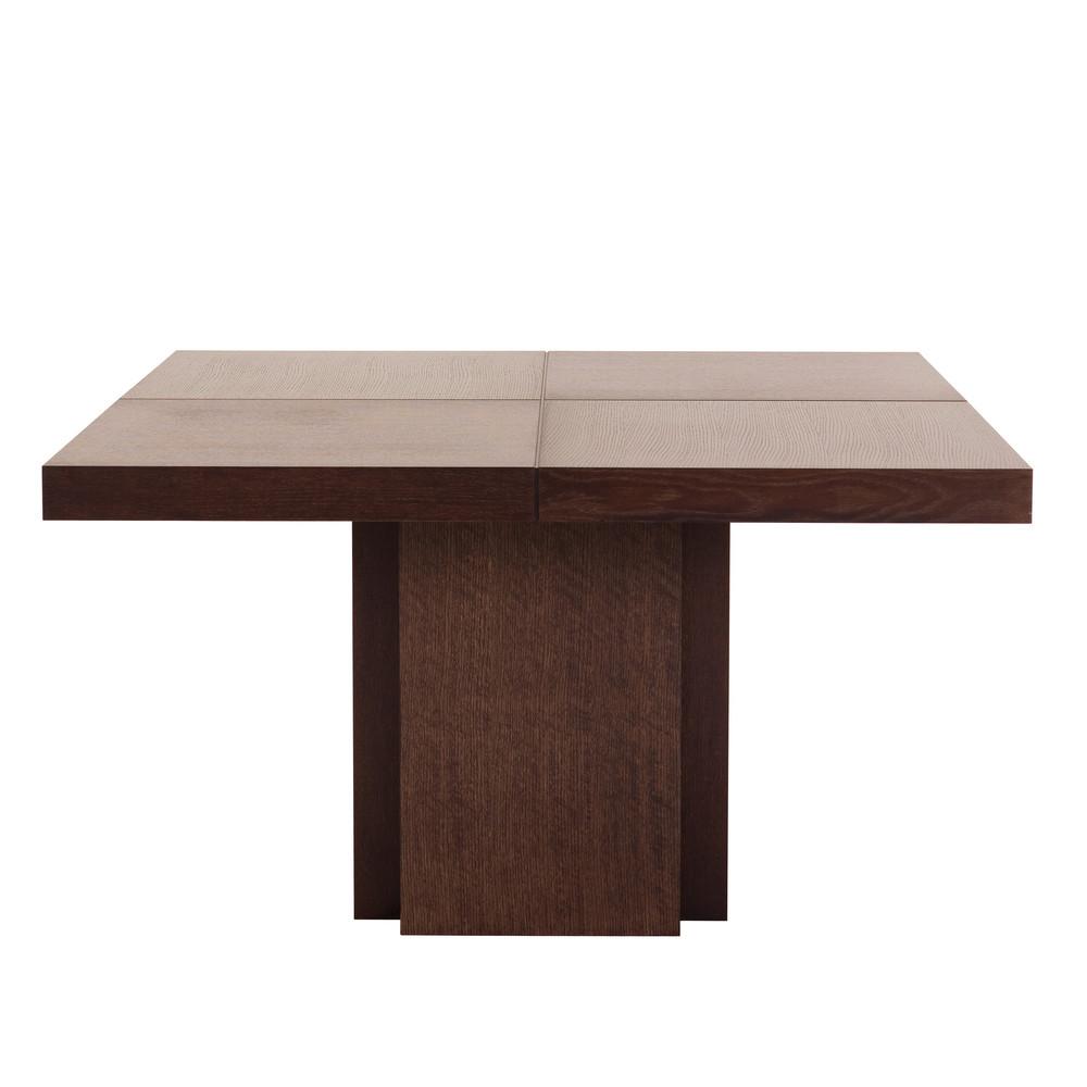 Tmavohnedý jedálenský stôl TemaHome Dusk, 130 cm