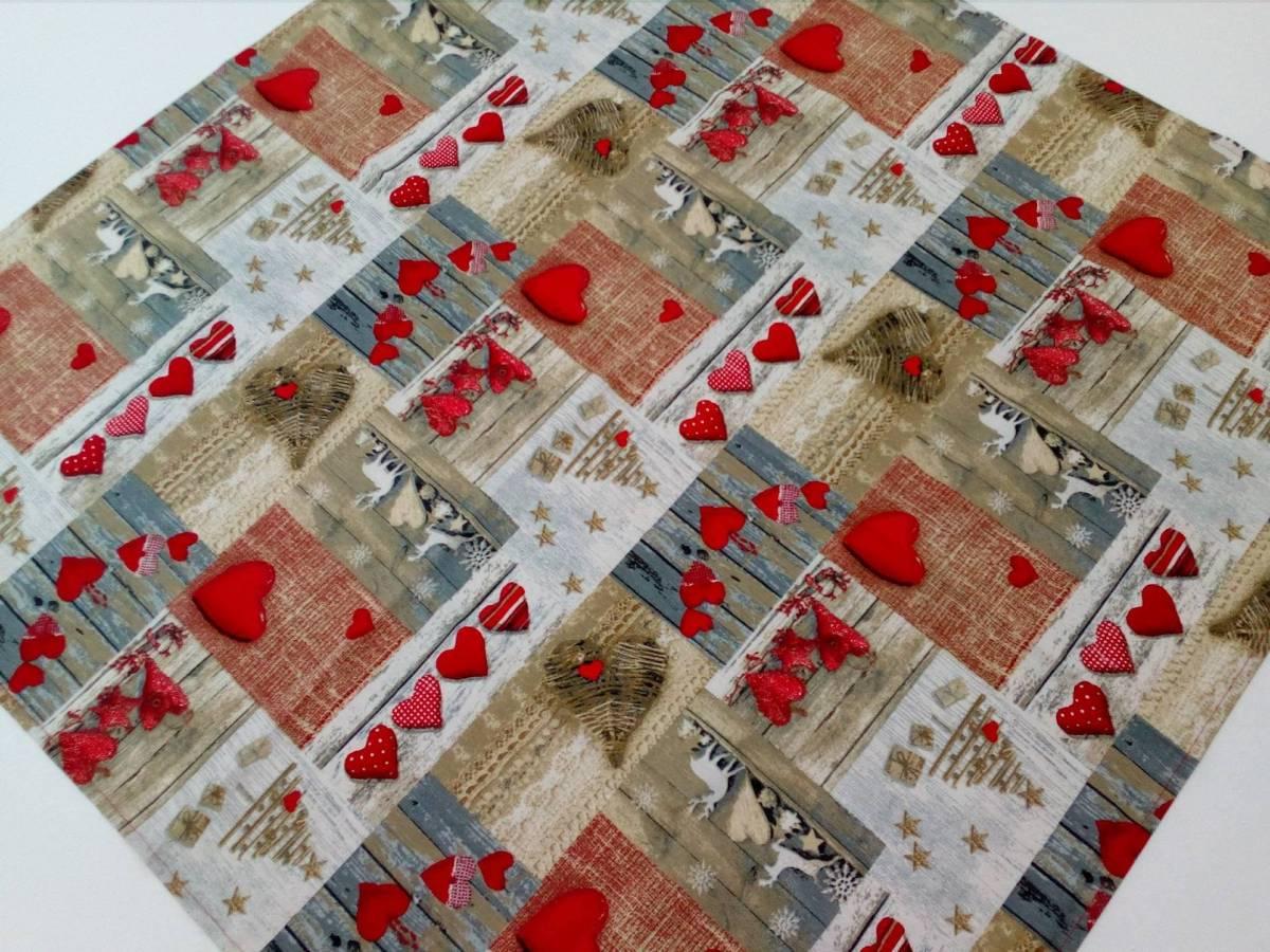 Štvorcový bavlnený obrus 90x90 TQ02