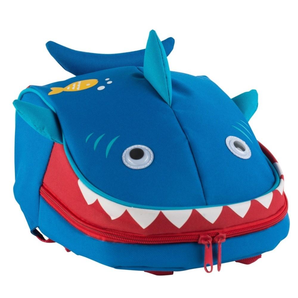 Modrý batoh na desiatu Navigate Shark