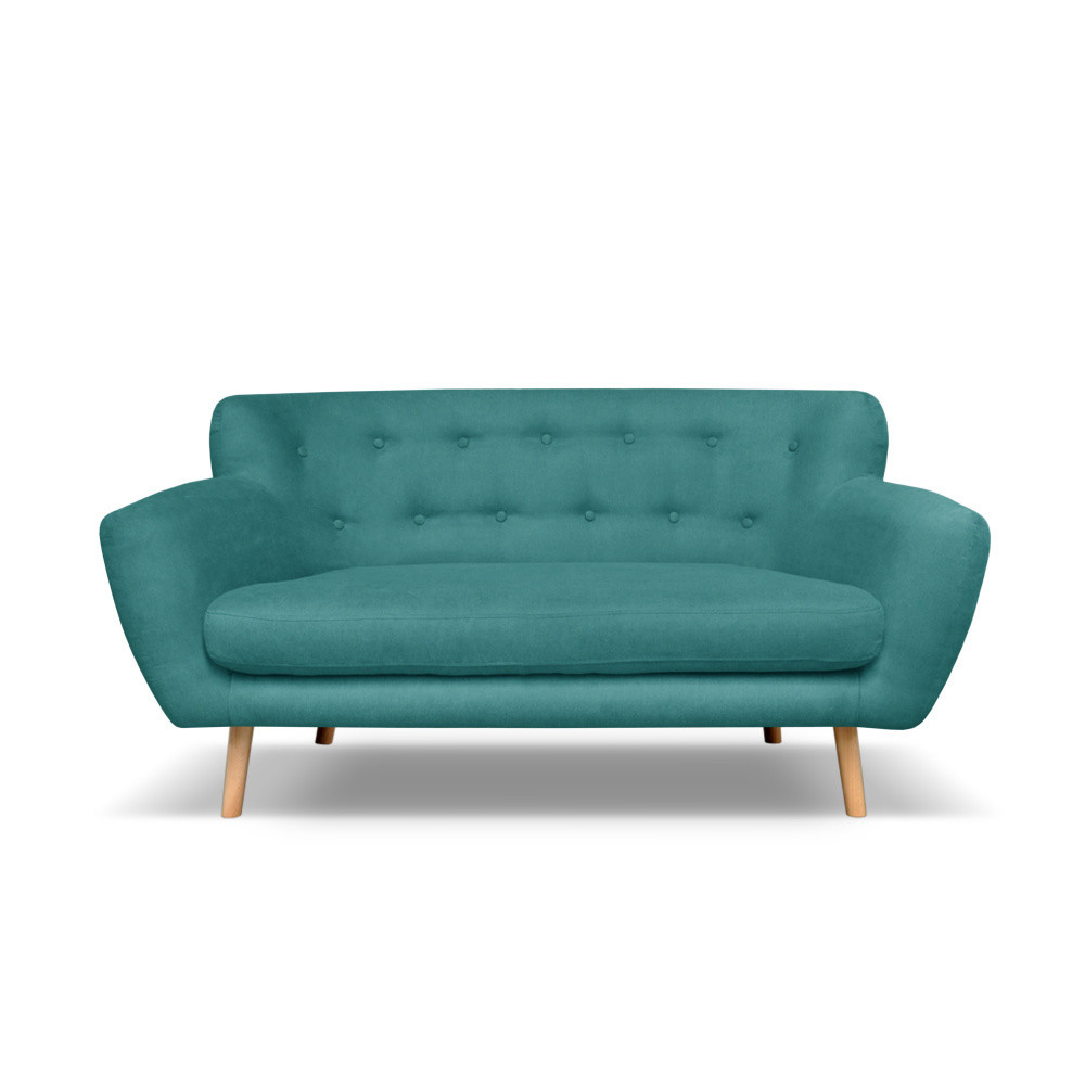 Tmavozelená pohovka pre troch Cosmopolitan design London