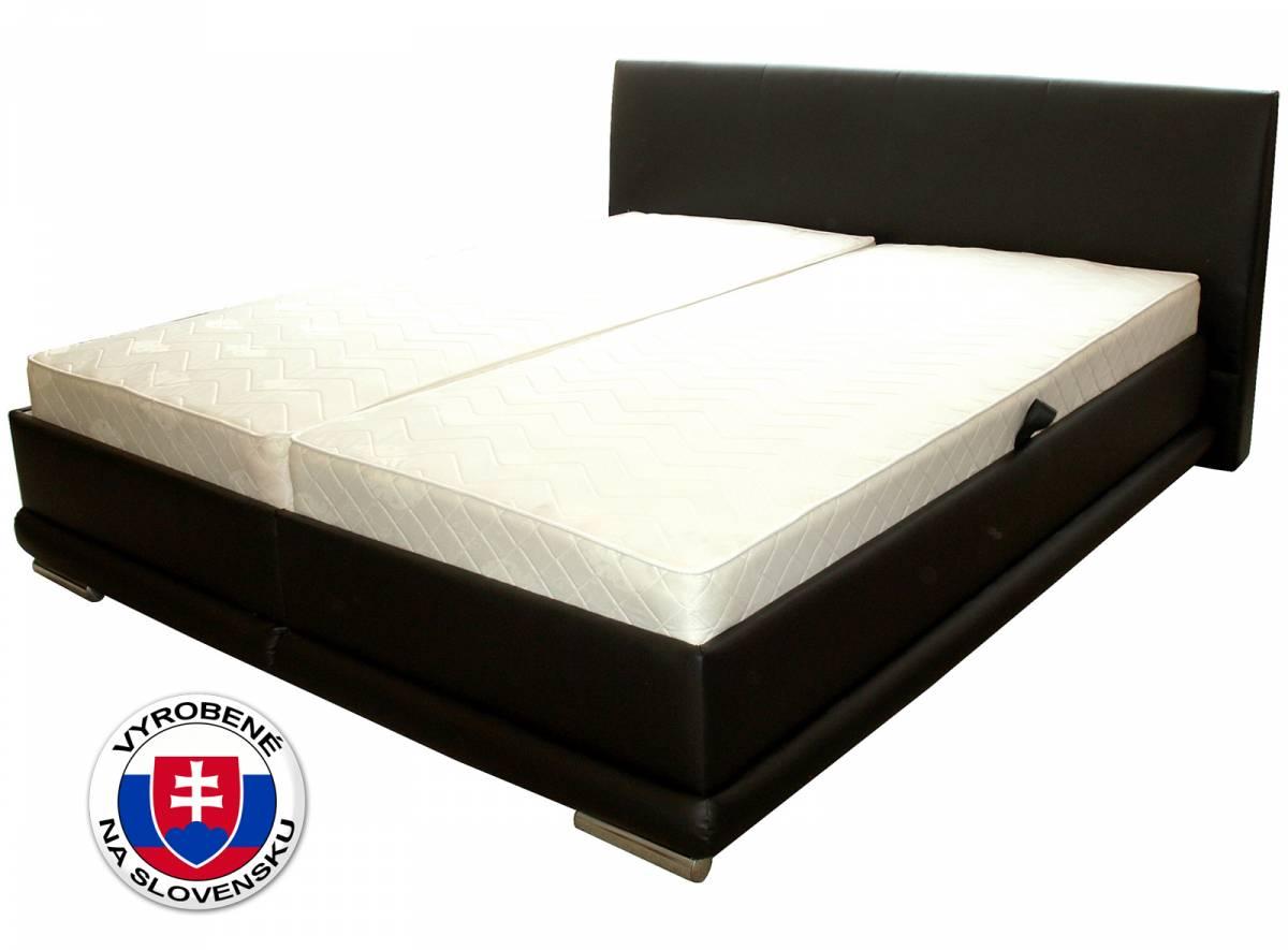 Manželská posteľ 180 cm Benab Marbella 2 (s roštami)