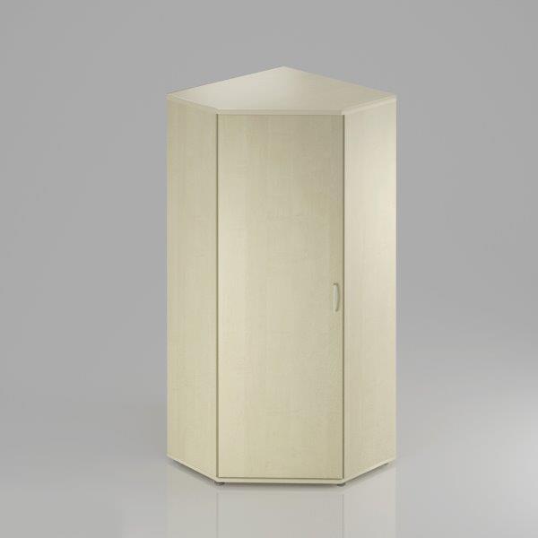 Rauman Kancelárska skriňa rohová Visio, 80x80x183,5 cm, dvere 5/5 SR585 12