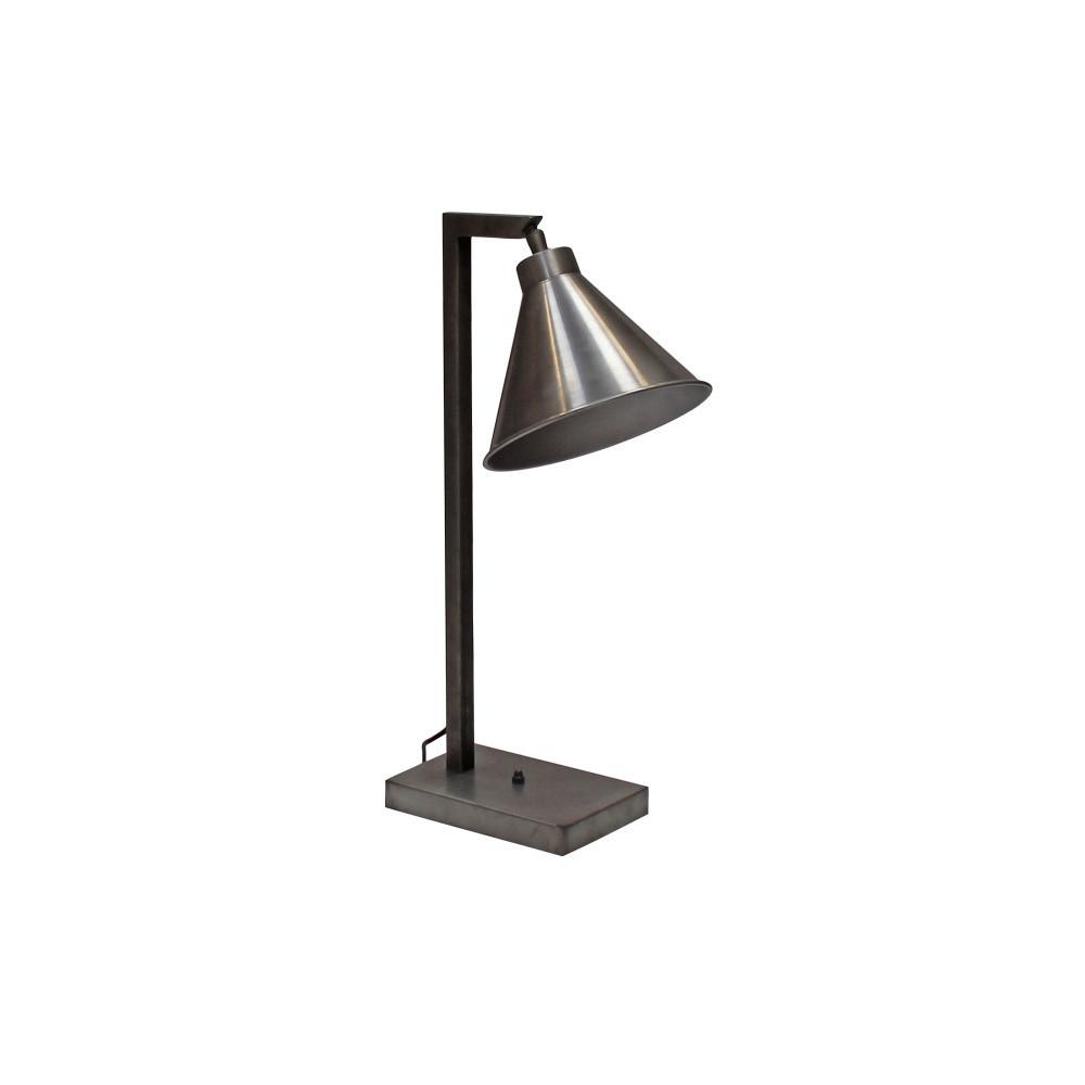 Strieborná stolová lampa Canett Solrød