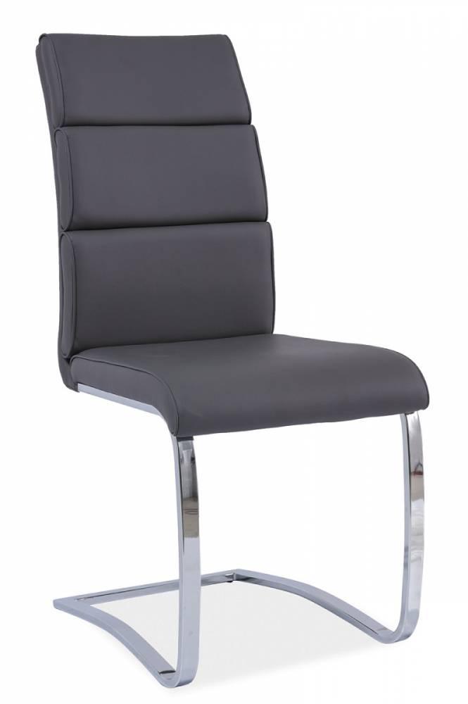 Jedálenská stolička HK-456, šedá
