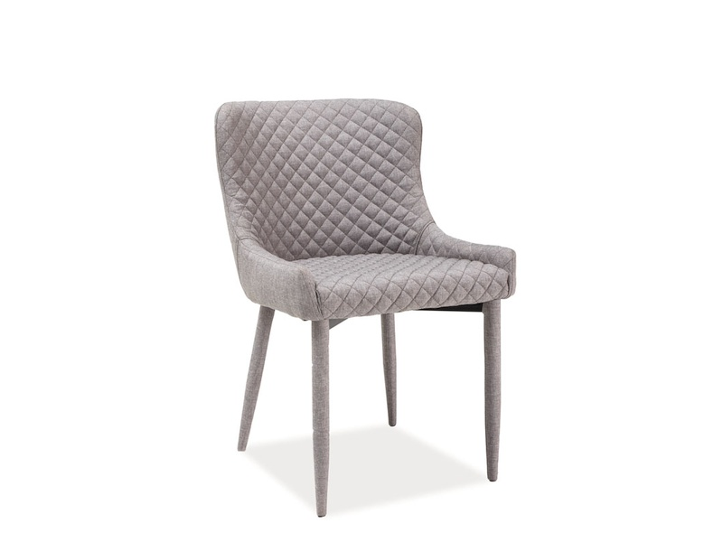 NOLIN jedálenská stolička, šedá