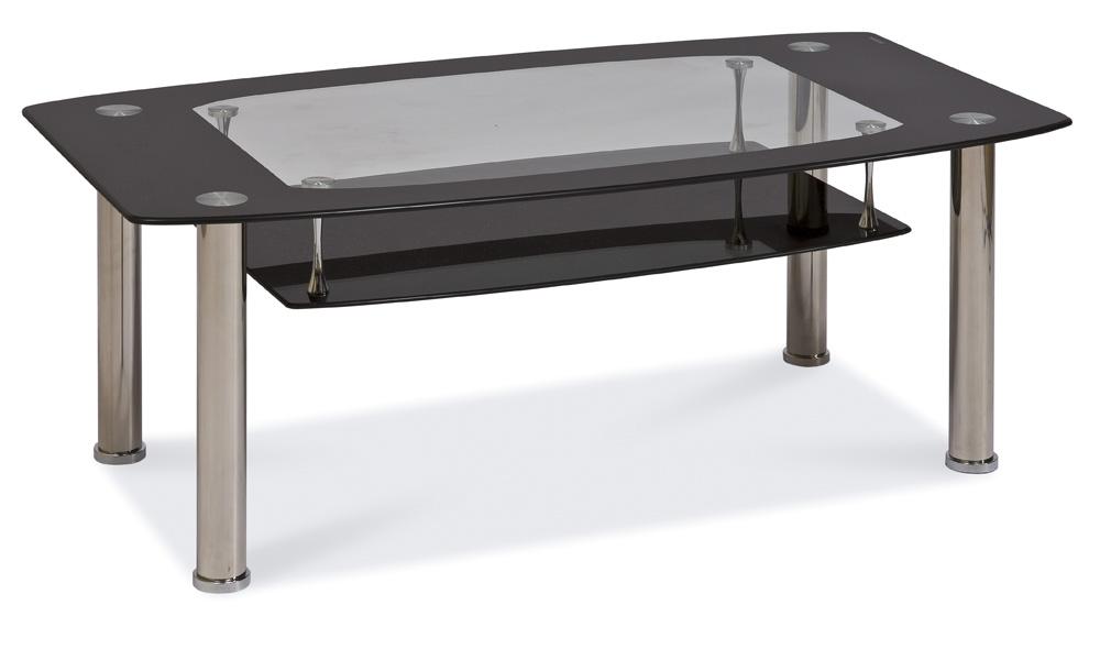 Konferenčný stolík Twist C čierny