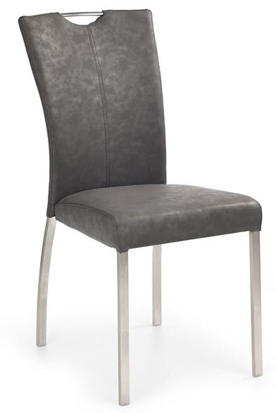Jedálenská stolička K178 sivá