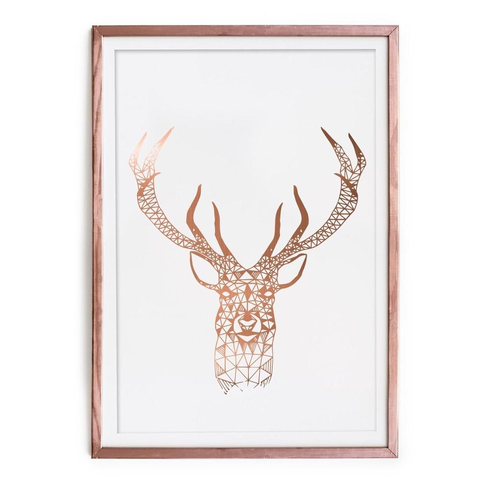 Obraz Really Nice Things Golden Deer, 40x60cm