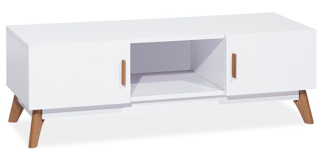 MILANO TV stolík , biela