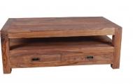 Furniture nábytok  Masívny konferenčný stolík z Palisanderu  Chorsand  120x70x45 cm