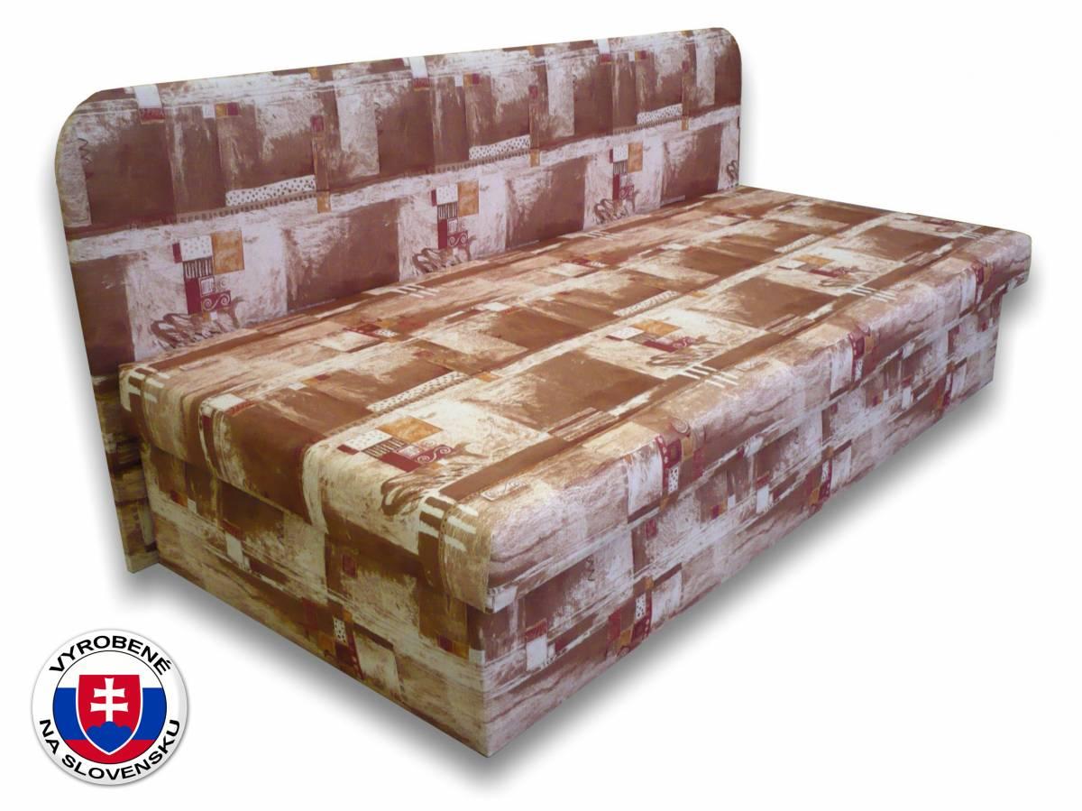 Jednolôžková posteľ (váľanda) 80 cm Lux IV (Čajka 1)